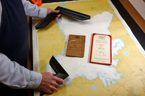 Acorn Framing - framing maps and nautical chart of Lough Neagh