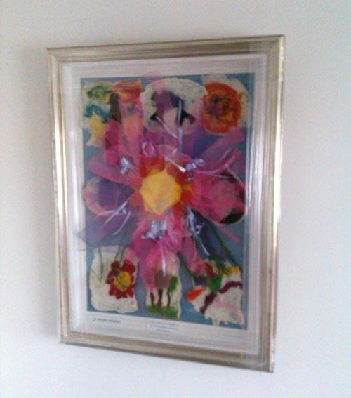 corporate charity framing framed artwork