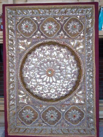 Newtownabbey Framer framing tapestry fabric material