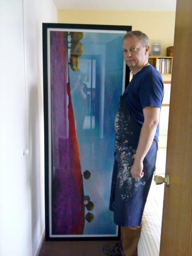 huge bespoke oversized framed print northern ireland
