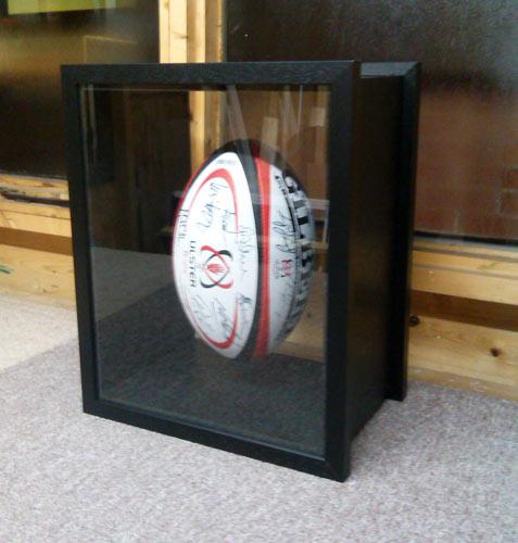 Acorn framing framed rugby ball