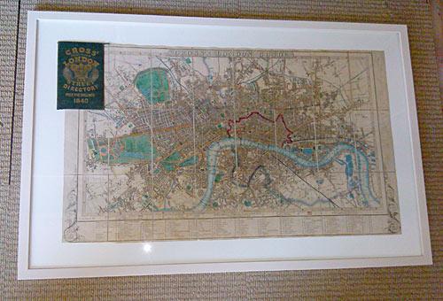 framed london map newtownabbey framer