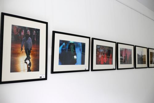 framed full photographic exhibition