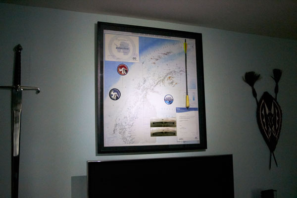 antarctica framed items framer framing items objects northern ireland